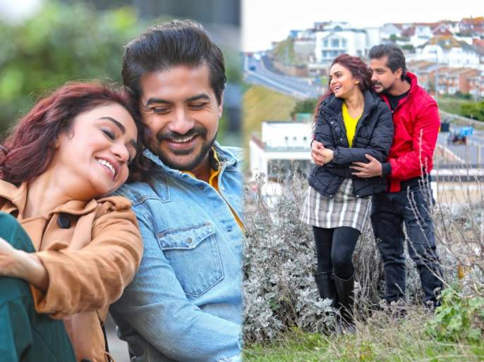 Amrita khanlilkar and pushkar jog new song release from movie 'well done baby' | अमृता खानलिलकर आणि पुष्कर जोग यांच्या 'वेल डन बेबी'मधलं 'हल्की हल्की' गाणं रिलीज