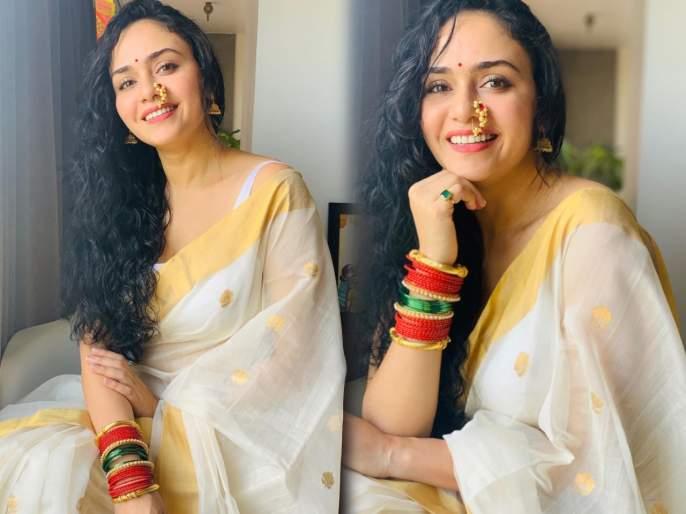 Amrita khanwilkar mother-in-law is just as beautiful like her   अमृता खानविलकरच इतक्याच दिसायला सुंदर आहेत तिच्या सासुबाई, पाहा फोटो