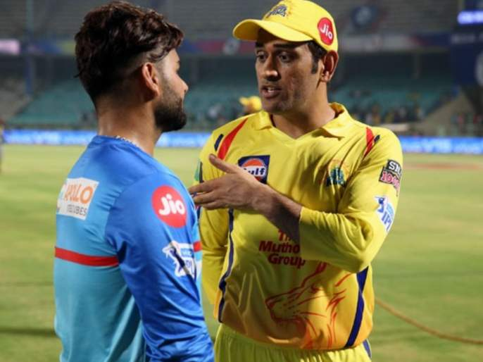 IPL 2021 : CSK vs DC T20 Live : Ravi Shastri excited for 'Dhoni vs Pant' contest as CSK and DC start their campaign   IPL 2021 : CSK vs DC T20 Live : गुरू vs चेला!; महेंद्रसिंग धोनी-रिषभ पंत सामन्यासाठी रवी शास्त्री आतुर; केलं मजेशीर ट्विट