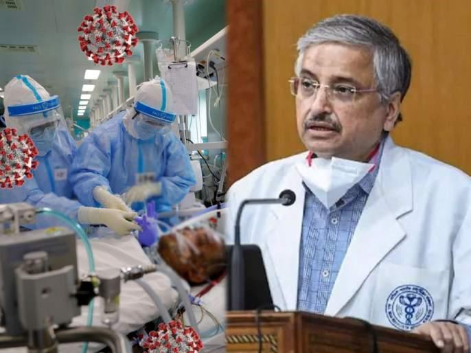 CoronaVirus : Infection rate from one corona patient goes upto 90 from 40 earlier says aiims director | CoronaVirus : कोरोनाच्या दुसऱ्या लाटेत १ रुग्ण ९० टक्के लोकांना करतोय संक्रमित, एम्स तज्ज्ञांचा धोक्याचा इशारा