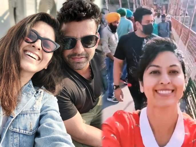 Abhijna bhave enjoying an adventure trip with her husband, video goes viral on social media | पतीसोबत अॅडव्हेंचर ट्रिप एन्जॉय करतेय अभिज्ञा भावे, सोशल मीडियावर व्हिडीओ व्हायरल