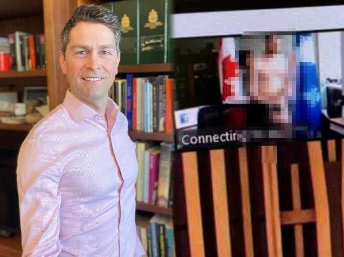 Trending Viral Photo : Canadian member of parliament william amos appears naked during an official digital meeting | Viral Photo : बोंबला! ऑनलाईन मिटींगमध्ये कपडे न घालताच समोर आला खासदार; फोटो व्हायरल झाला अन् मग.....