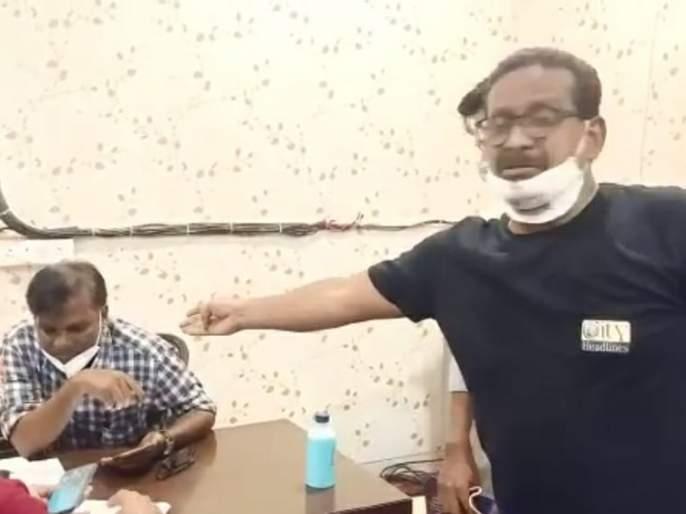 Crime against 8 people including running a channel on YouTube for abusing doctors after being rushed to Covid Hospital | कोव्हीड रुग्णालयात घुसून डॉक्टरांना शिवीगाळ करणाऱ्या युट्युबवर चॅनल चालवणाऱ्यासह ८ जणांविरुद्ध गुन्हा