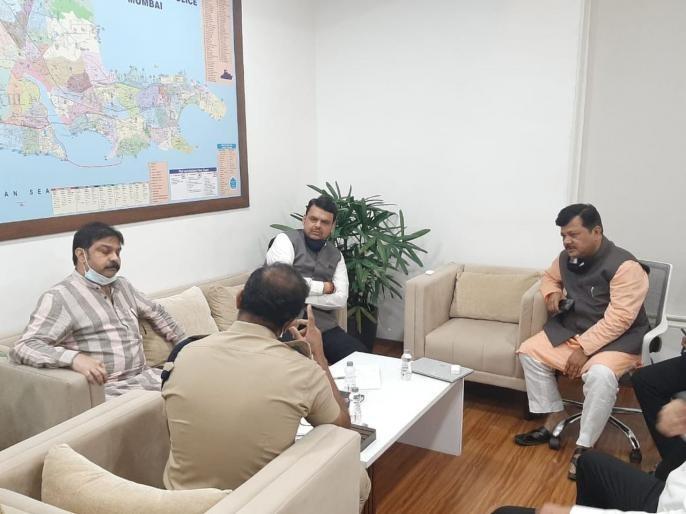 Why did the Leader of the Opposition go to rescue the pharma company owner? Nawab Malik again made serious allegations   फार्मा कंपनीच्या मालकाला सोडवायला विरोधी पक्षनेते का गेले? नवाब मलिकांनी पुन्हा गंभीर आरोप केले