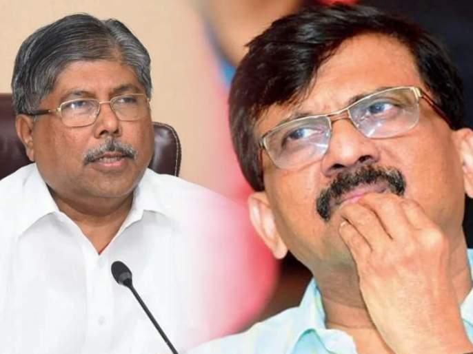 "BJP Chandrakant Patil Slams Shivsena Sanjay Raut Over CoronaVirus in Maharashtra | ""संजय राऊत, आधी विधानसभेचे अधिवेशन आयोजित करा"", चंद्रकांत पाटलांचा टोला"