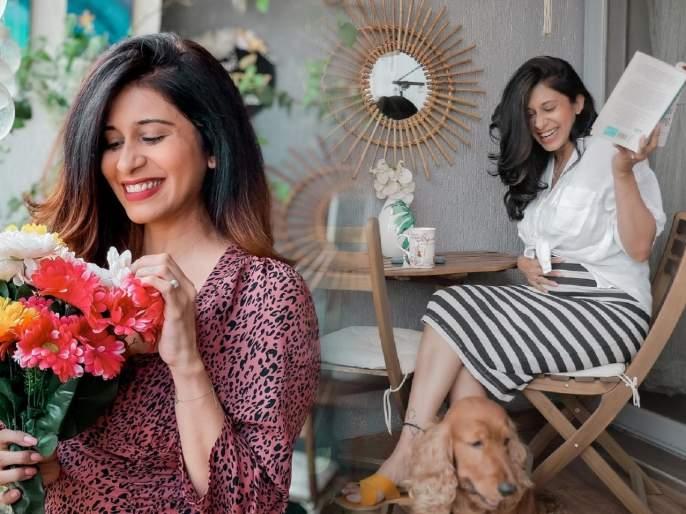 Actress kishwar merchant flaunt a baby bump on social media | अभिनेत्री किश्वर मर्चंटने सोशल मीडियावर बेबी बम्पॅ केले फ्लॉन्ट, म्हणाली- हे इतके सोपे नाही