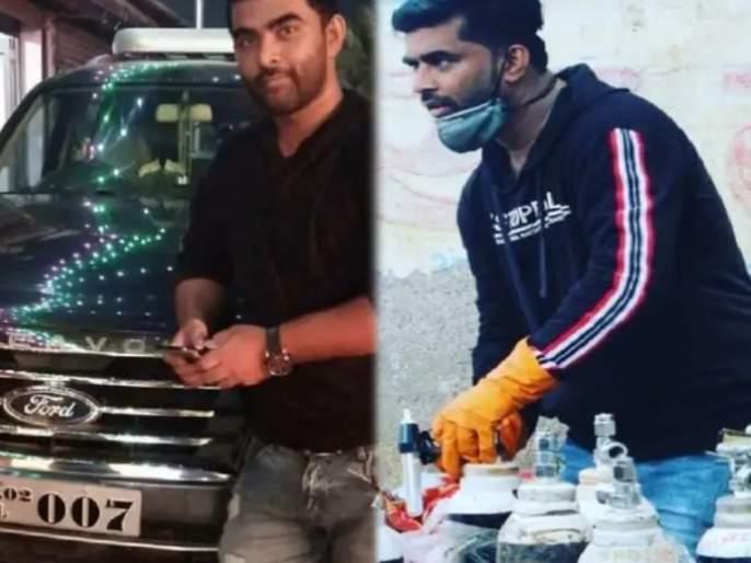 CoronaVirus News oxygen man shahnawaz sheikh sold 23 lakh price suv to deliver oxygen cylinders to patients | Oxygen Man Shahnawaz Shaikh : देवदूत! कोरोनाग्रस्तांसाठी 'त्याने' घेतला पुढाकार; ऑक्सिजन सिलिंडरसाठी विकली 23 लाखांची कार अन्...