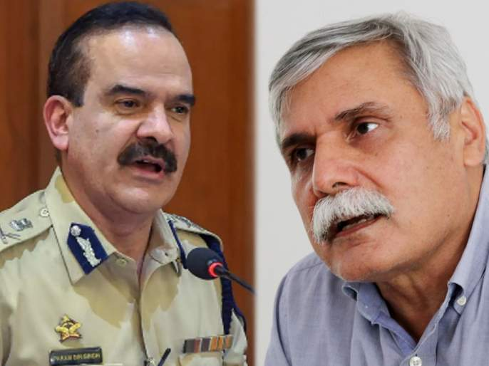 Police officer Anup Dange alleges Parambir has links to the underworld; DG Sanjay Pandey will inquire   परमबीर यांचे अंडरवर्ल्डची संबंध असल्याचा पोलीस अनुप डांगेंनी केला आरोप; डीजी संजय पांडे करणार चौकशी