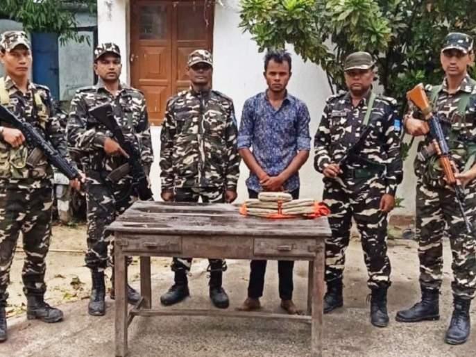 Crores of hashish seized at Indo-Nepal border; Action taken by SSB   Indo-Nepal Border वर कोटींचे चरस जप्त; SSBने केली कारवाई