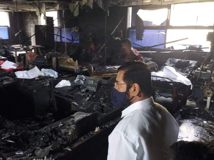 Virar Hospital Fire: Rs 5 lakh assistance from the Municipal Corporation to the families of the victims of the accident - Eknath Shinde | Virar Hospital Fire : दुर्घटनेतील मृतांच्या कुटुंबीयांना महापालिकेच्यावतीने ५ लाख रुपयांची मदत - एकनाथ शिंदे