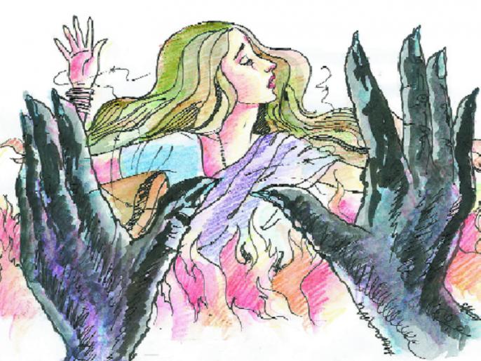 Menstrual cramps are 'time' | अंतर्वस्त्राचा वापरही महत्त्वाचा : मासिक पाळीतील अस्वच्छता ठरतेय 'काळ'