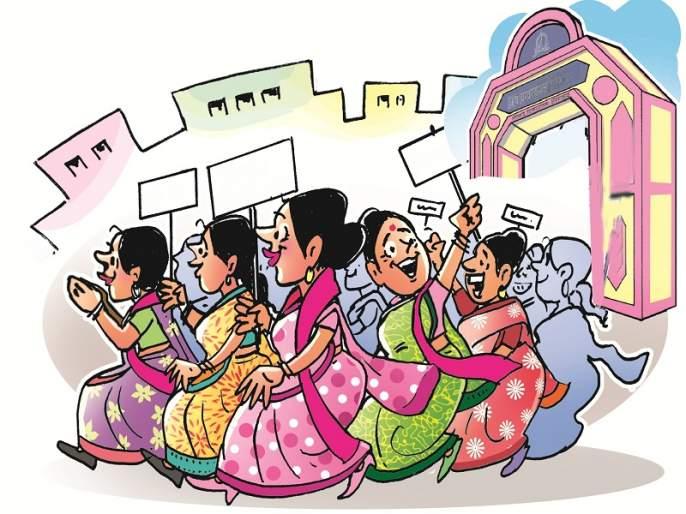 Most of the women corporators are like rubber stamp in Aurangabad Municipality   बहुतांश नगरसेविका ठरल्या कळसूत्री बाहुल्या;महिलांचे प्रश्नअनुत्तरितच