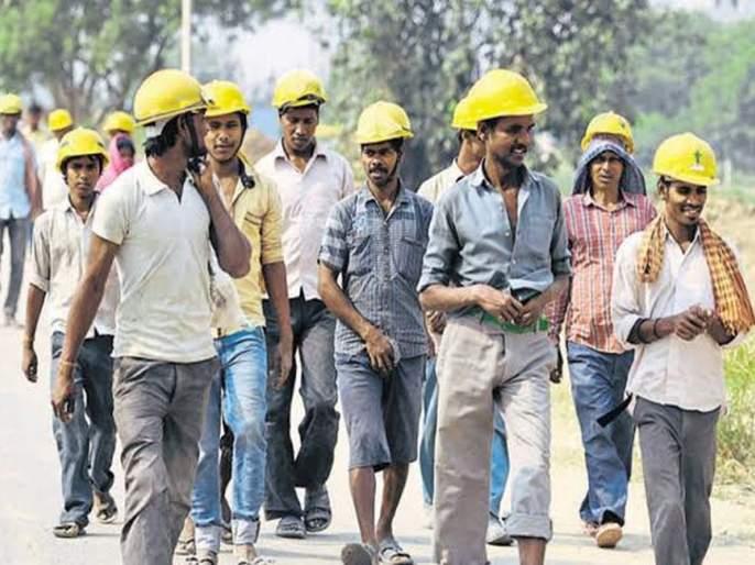 Workers in Mumbai metropolis deprived of government assistance | मुंबई महानगरांतले मजूर सरकारी मदतीपासून वंचित