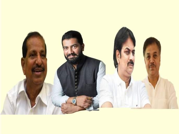 Leaders of BJP who went from ncp-congrees in gossip Vidhan Sabha Election 2019 | विकासासाठी भाजपमध्ये गेलेल्या नेत्यांचीच सगळीकडे चर्चा !