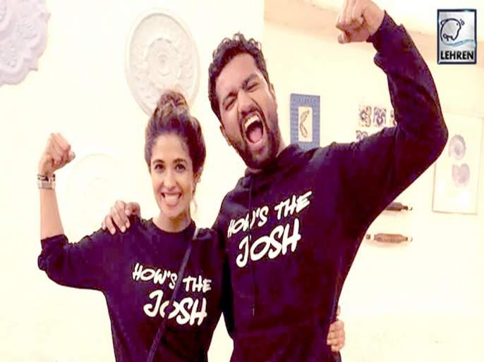 Bhumi pednekar might be the reason of harleen and vicky kaushal split | कॅटरिना कैफमुळे नाही तर 'या' अभिनेत्रीमुळे झाले विकी कौशल आणि हरलीन सेठीचे ब्रेकअप