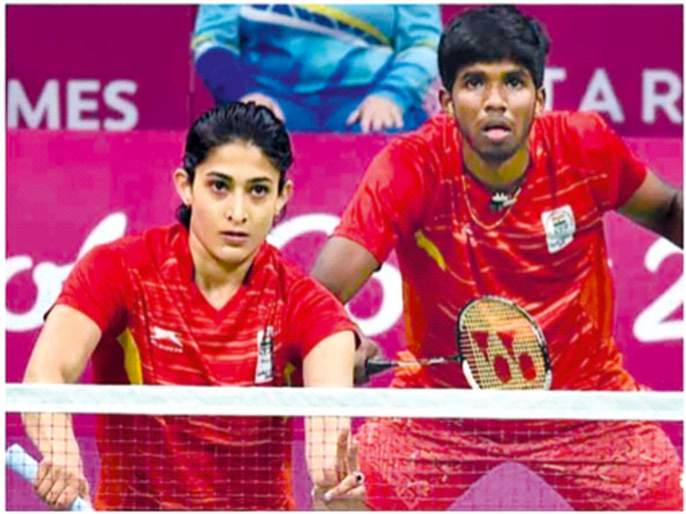 Sensational victory of Sattvik-Ashwini duo in the first match   पहिल्याच सामन्यात सात्त्विक-अश्विनी जोडीचा सनसनाटी विजय