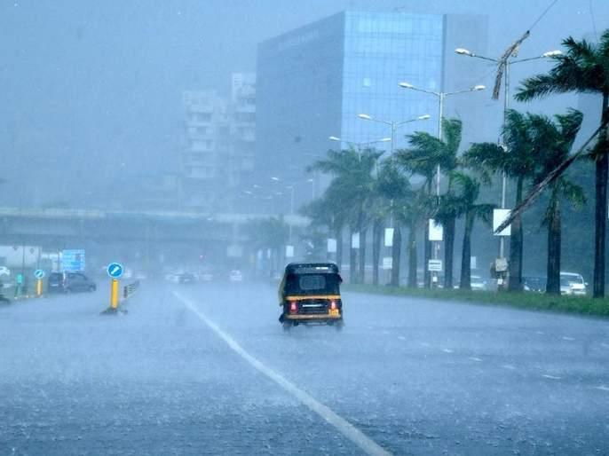 Most rainfall in Nerul, Belapur division   नेरुळ, बेलापूर विभागात सर्वाधिक पाऊस