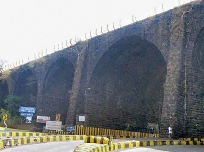 British made Amrutanjan bridge will destroyed on Mumbai Pune Express way hrb | CoronaVirus लॉकडाऊनचा असाही फायदा; ब्रिटिशकालीन अमृतांजन पूल पाडणार