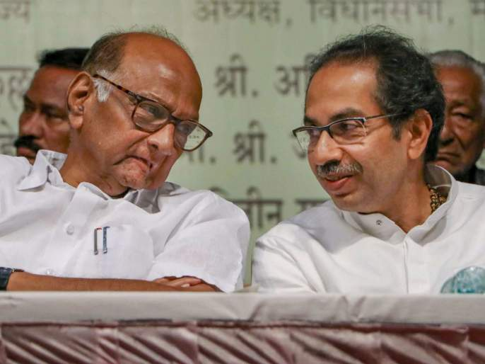 Discussion between Uddhav Thackeray and Sharad Pawar on Maratha Reservation, Farmers Bill | मराठा आरक्षण, शेतकरी विधेयकावर उद्धव ठाकरे-शरद पवारयांच्यात चर्चा
