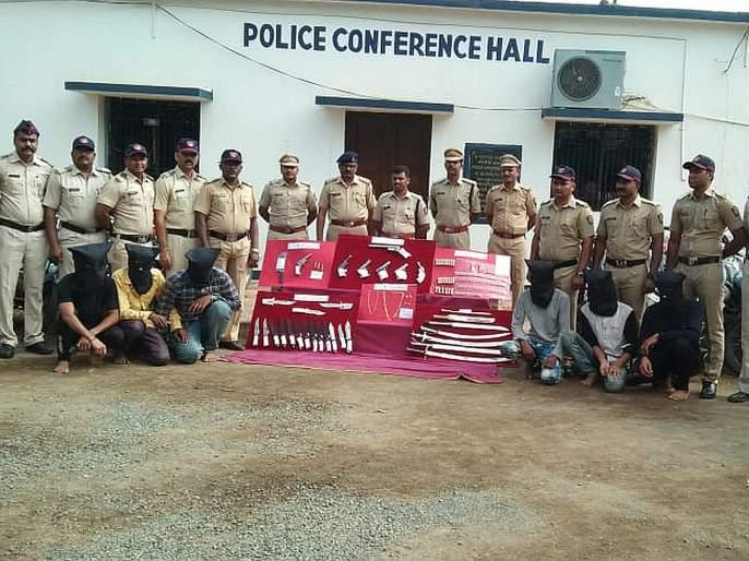One Engineer & 5 others arrest for Robbery in Yavatmal   अभियंताच निघाला सराईत घरफोड्या, १४ लाखांच्या मुद्देमालासह शस्त्रसाठा जप्त