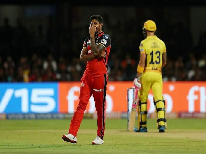 IPL 2019 RCB vs CSK: Faf Du Plessis's fate; The ball hit the stumps, but ... | IPL 2019 RCB vs CSK : फॅफ ड्यू प्लेसिसचे नशीब जोरात; चेंडू स्टम्पला चाटून गेला, पण...