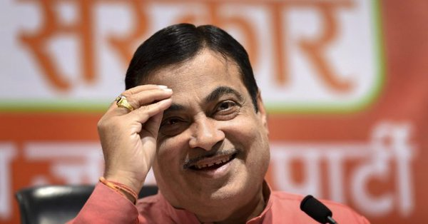 'Manthan' at Gadkari's house after 'Exit Polls' | 'एक्झिट पोल्स'नंतर गडकरींच्या घरी 'मंथन'