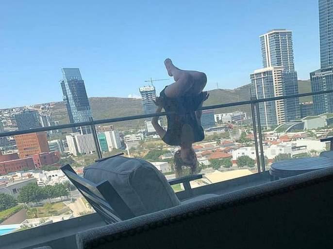 Shocking! 23 year old girl falls from 80 feet while attempting extreme yoga pose | धक्कादायक! बाल्कनीत योगाभ्यास करताना ८० फुटावरून खाली पडली तरूणी, तब्बल ११ तास चालली सर्जरी!