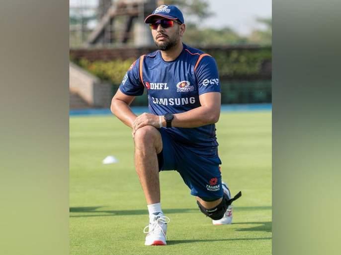 Mumbai Indians Yuvraj Singh's batting in nets ahead of IPL 2019, watch video | Video : आला रे आला... युवराज आला, मुंबई इंडियन्सकडून खास स्वागत