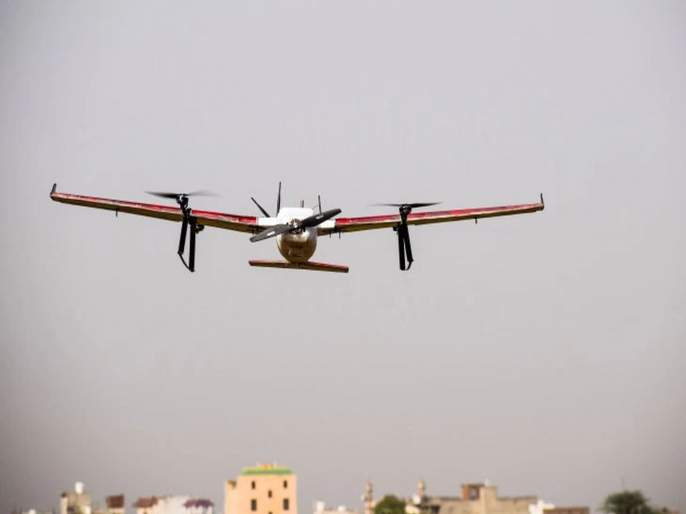 Video: Zomato will supply food through a drone; Parcel arrives in 15 minutes | Video: Zomato करणार ड्रोनद्वारे फूड डिलिव्हरी; 15 मिनिटात पोहचणार पार्सल