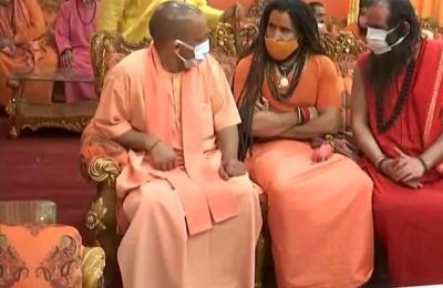 Mahant Giri's death: Yogi says culprits will not be spared | Mahant Giri's death: Yogi says culprits will not be spared