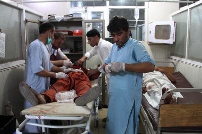 Afghan civilian casualties drastically down last week | Afghan civilian casualties drastically down last week