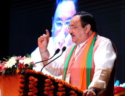 After Modi, BJP President lauds Yogi's governance | After Modi, BJP President lauds Yogi's governance