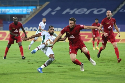 ISL: NorthEast-Bagan first bout end with late thriller | ISL: NorthEast-Bagan first bout end with late thriller