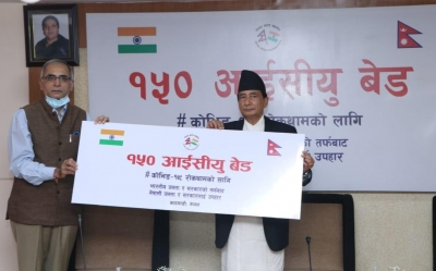 India gifts 150 ICU beds to Nepal   India gifts 150 ICU beds to Nepal