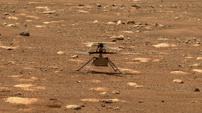 NASA's Ingenuity helicopter completes 8th flight on Mars | NASA's Ingenuity helicopter completes 8th flight on Mars