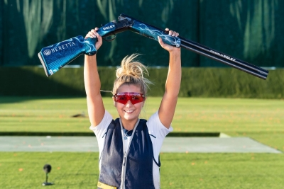 Covid watch: Shooter Amber Hill withdrawn after testing positive   Covid watch: Shooter Amber Hill withdrawn after testing positive