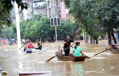 12 killed, thousands evacuated as floods ravage China   12 killed, thousands evacuated as floods ravage China