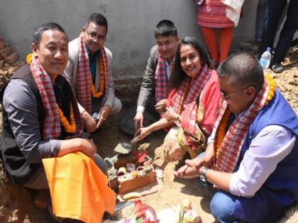 Reconstruction of 2 schools in Nepal begins with Indian aid   Reconstruction of 2 schools in Nepal begins with Indian aid