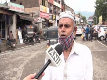 Locals in J-K's Udhampur celebrate Eid-ul-Adha, offer namaz at homes amid COVID   Locals in J-K's Udhampur celebrate Eid-ul-Adha, offer namaz at homes amid COVID