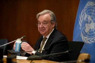 Guterres urges G20 to act on vax equity, debt relief | Guterres urges G20 to act on vax equity, debt relief