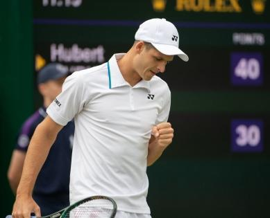 Hurkacz jumps seven spots to 11th on ATP after Wimbledon show | Hurkacz jumps seven spots to 11th on ATP after Wimbledon show