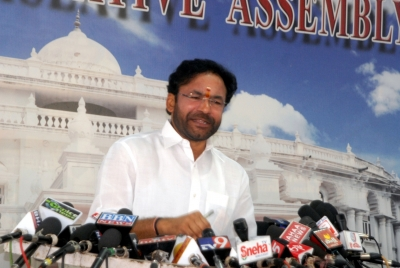 Kishan Reddy thanks PM for heritage site status to Ramappa temple   Kishan Reddy thanks PM for heritage site status to Ramappa temple