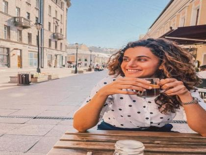 Taapsee Pannu is all praises for her 'Shabaash Mithu' coach on Teachers' Day | Taapsee Pannu is all praises for her 'Shabaash Mithu' coach on Teachers' Day