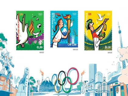 UN and IOC launch stamps to honour role of sport for peace   UN and IOC launch stamps to honour role of sport for peace