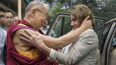 Pelosi reaffirms US support for Tibet on Dalai Lama's 86th b'day | Pelosi reaffirms US support for Tibet on Dalai Lama's 86th b'day