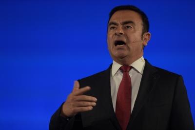Japan arrests 2 men linked to Ghosn escape   Japan arrests 2 men linked to Ghosn escape