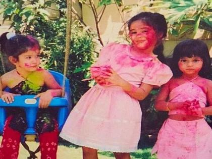 Ananya Panday shares fond Holi memories with Shanaya Kapoor, Suhana Khan | Ananya Panday shares fond Holi memories with Shanaya Kapoor, Suhana Khan