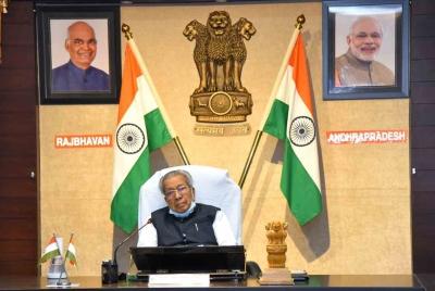Andhra Guv, CM congratulate Mirabai for winning silver medal | Andhra Guv, CM congratulate Mirabai for winning silver medal