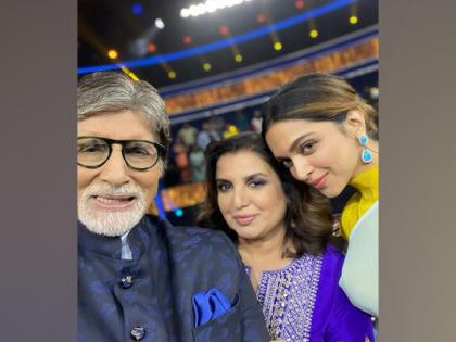 Farah Khan shares picture from KBC sets featuring Amitabh Bachchan, Deepika Padukone | Farah Khan shares picture from KBC sets featuring Amitabh Bachchan, Deepika Padukone