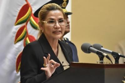 Ex-Bolivian Interim Prez transferred to women's prison | Ex-Bolivian Interim Prez transferred to women's prison